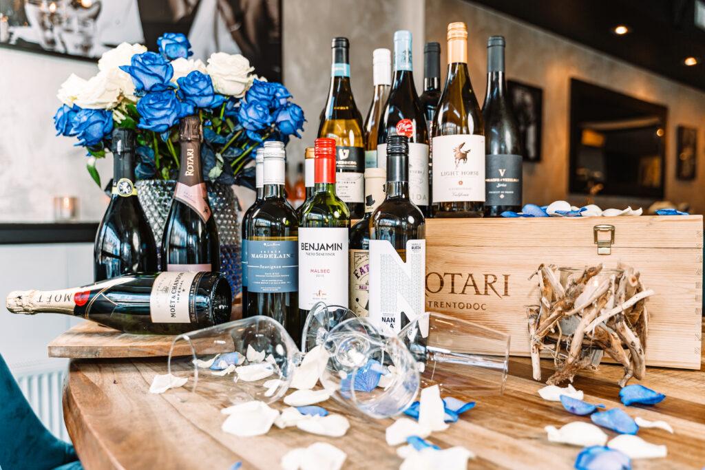 Een greep uit onze wijnen
